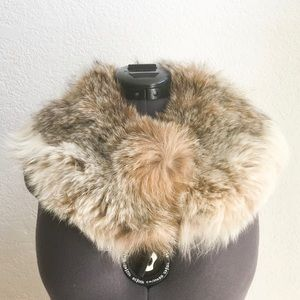 Vintage Genuine Coyote Fur Collar